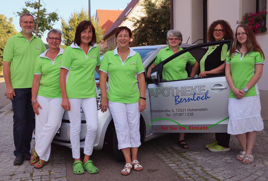Ihr Team der Apotheke Bernloch